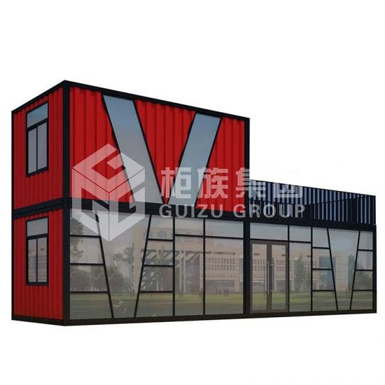 Two-floor container office