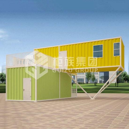 prefabricated duplex villa